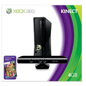 Xbox 360 with Kinect and XBox Live -Great for Kids and Adults!